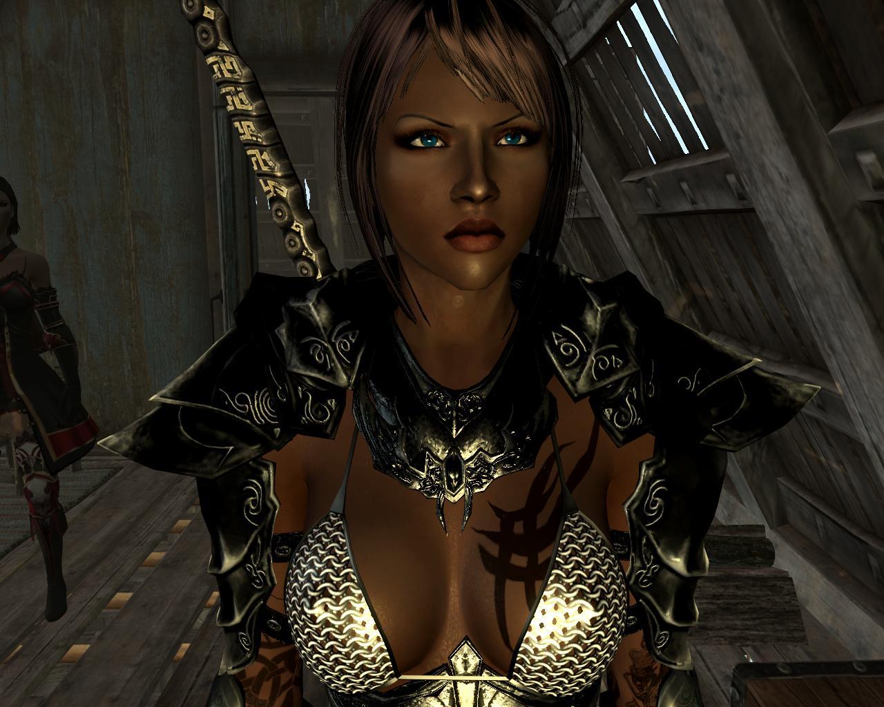 Skyrim сексуальная броня