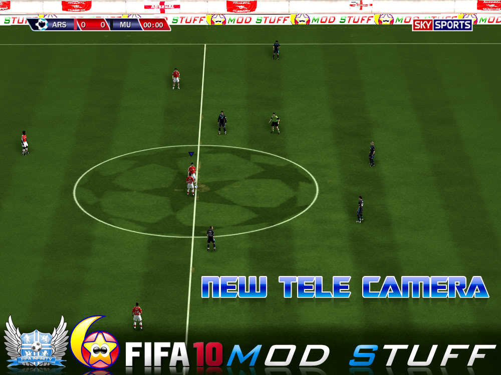 Патчи для fifa 10. New tele camera patch.