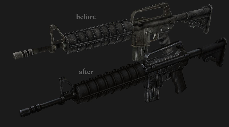 Штурмовая винтовка fallout 3