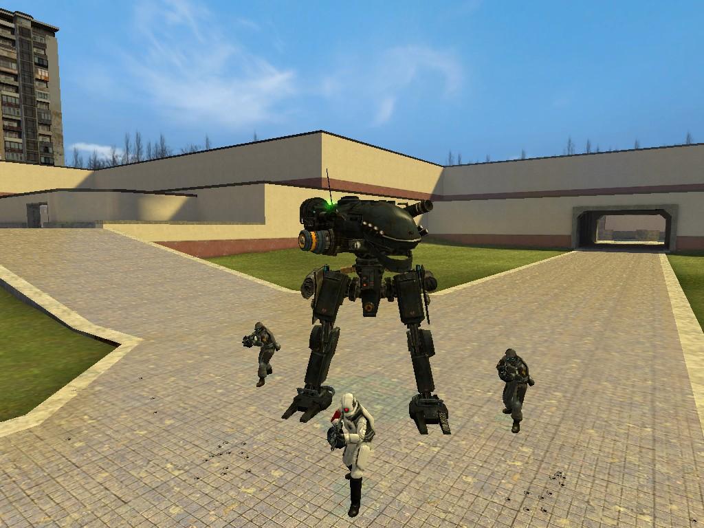 Скачать аддоны на гаррис мод 13 на роботов