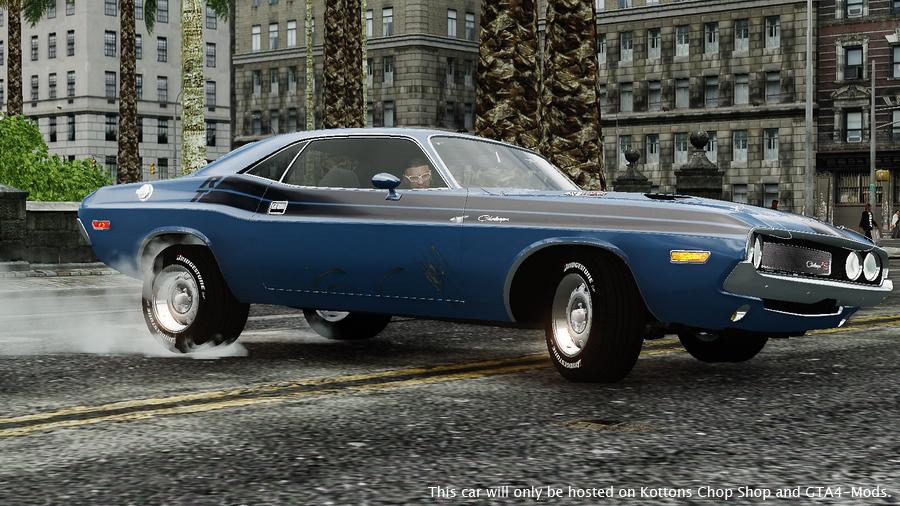 Фото dodge challenger 1970