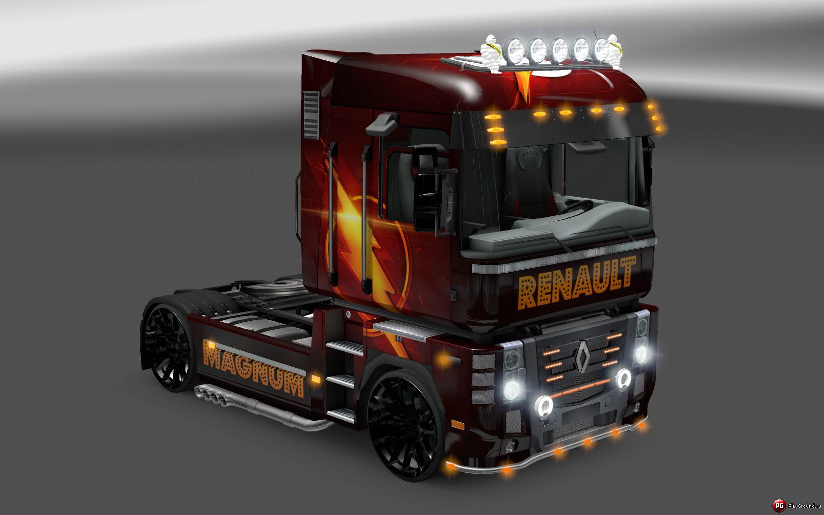 Моды На Рено Магнум На Euro Truck Simulator 2