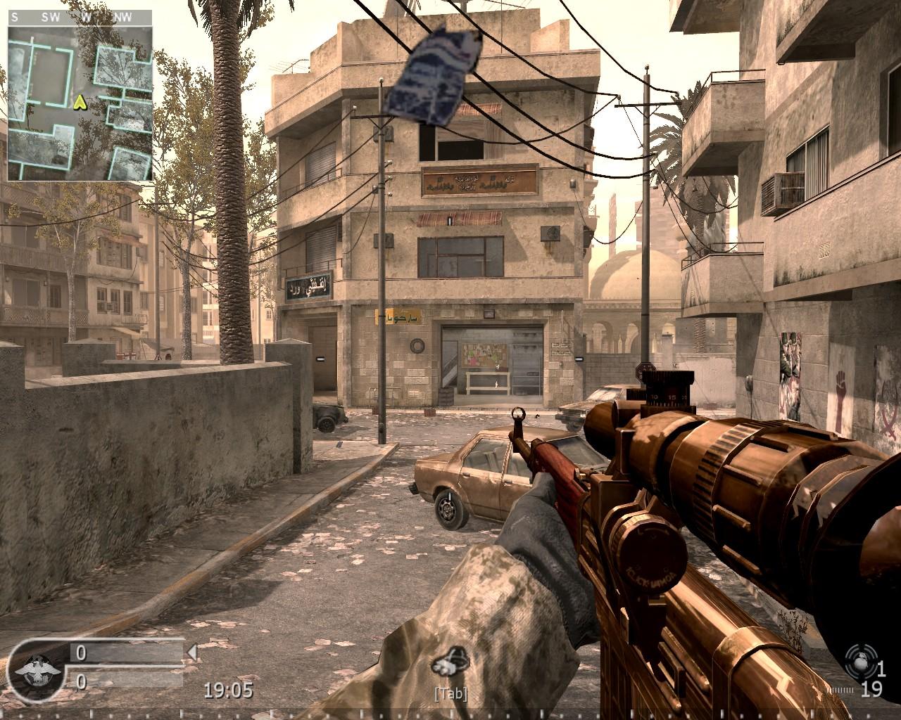 Call of duty 4: modern warfare - open warfare 2 mod 143 by sledgehammer - mod creators