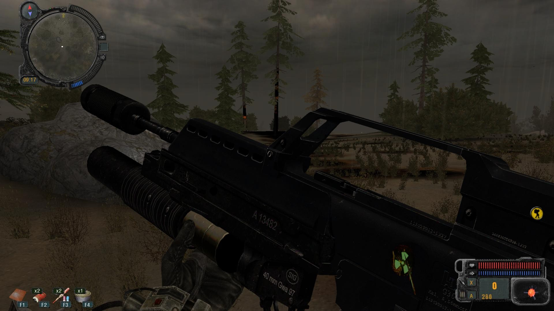Скачать оружейный мод для сталкера