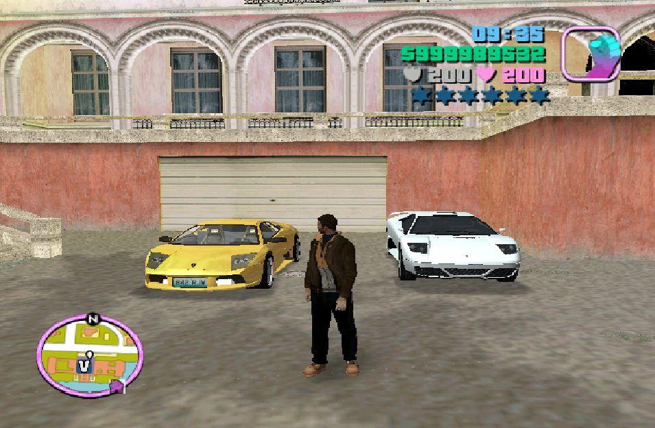 Все моды машин для GTA Vice City снабжены автоматической установкой