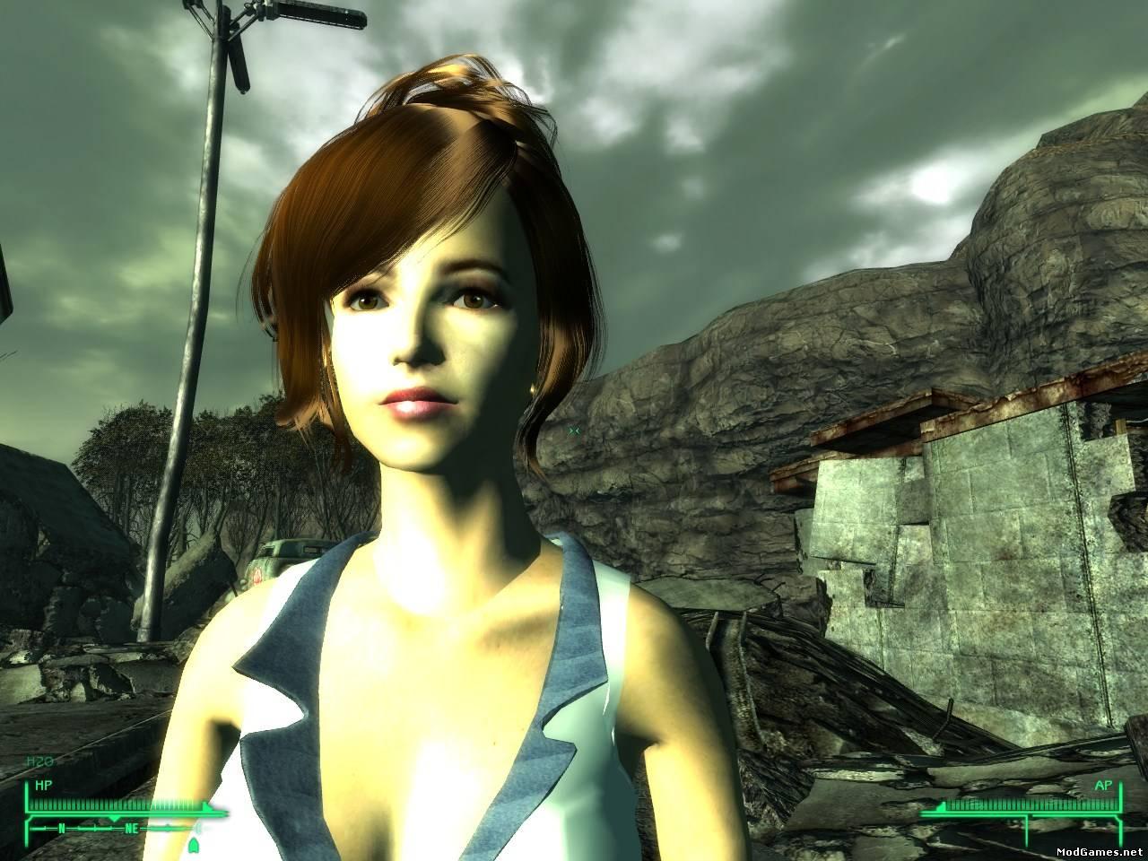 Fallout new vegas мод на прически для женщин