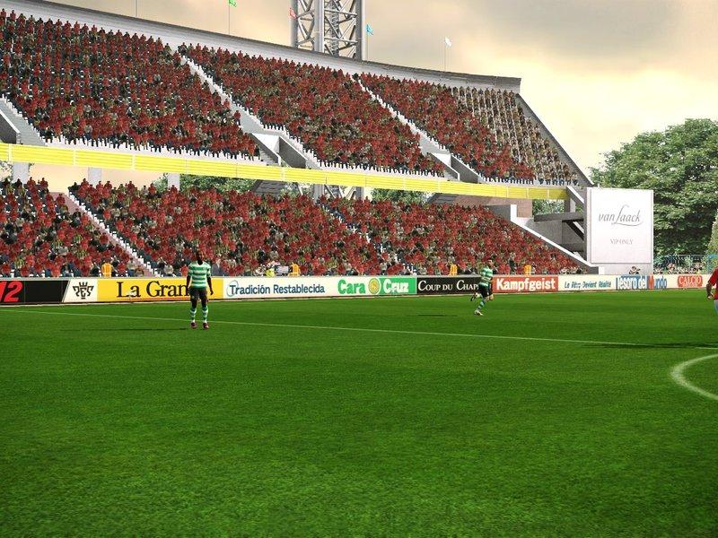 """Дополнения.  Просмотров: 125 Добавил.  PES 2012  """"Стадион Кубань (Краснодар) от SKT-SRG """". winston."""