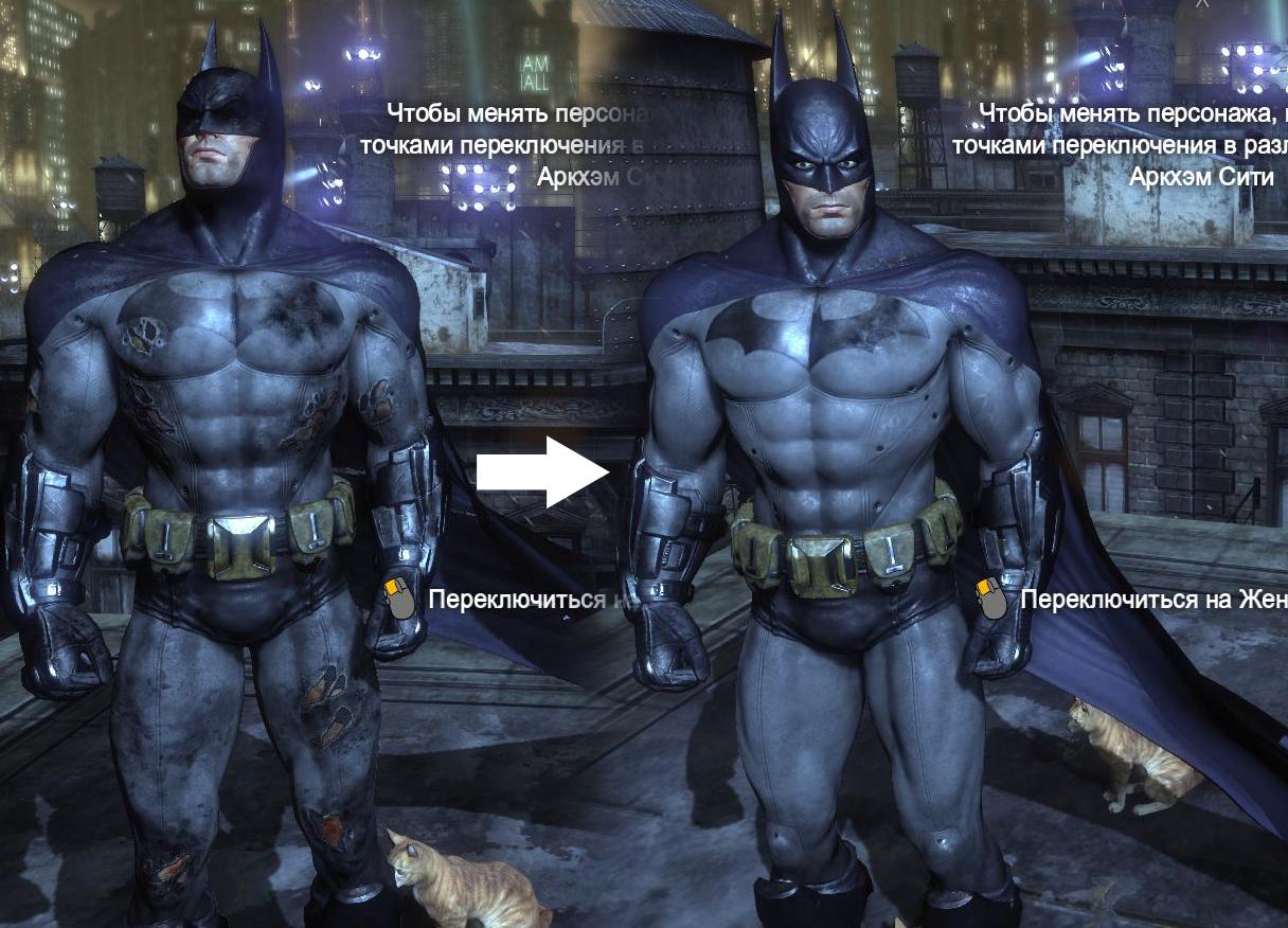 Batman arham city nude mods erotic galleries