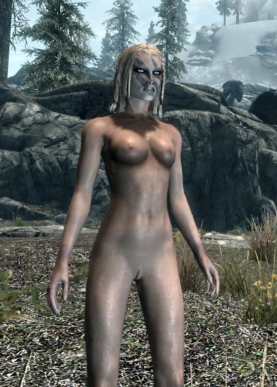 скайрим пач голые: