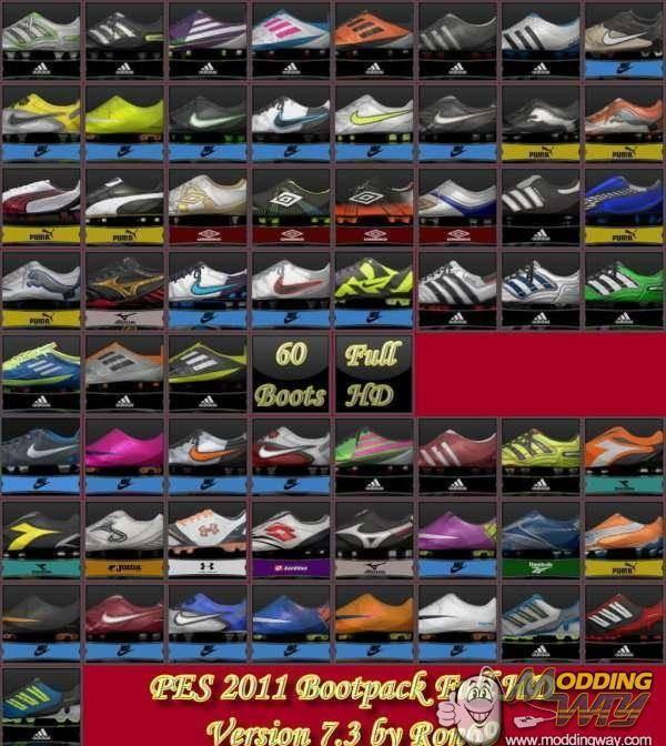 HD Bootpack 7.3 - Бутсы - Pro evolution soccer 2011 - Каталог ф