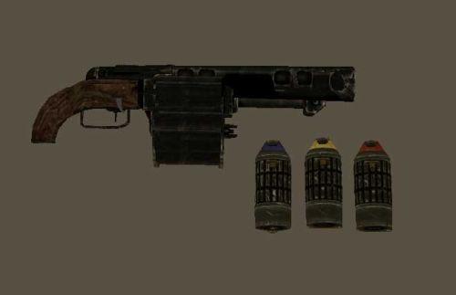 Fallout 3 гранатомет