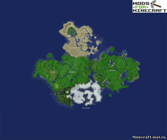 скачать карту New Air Island для майнкрафт - фото 11