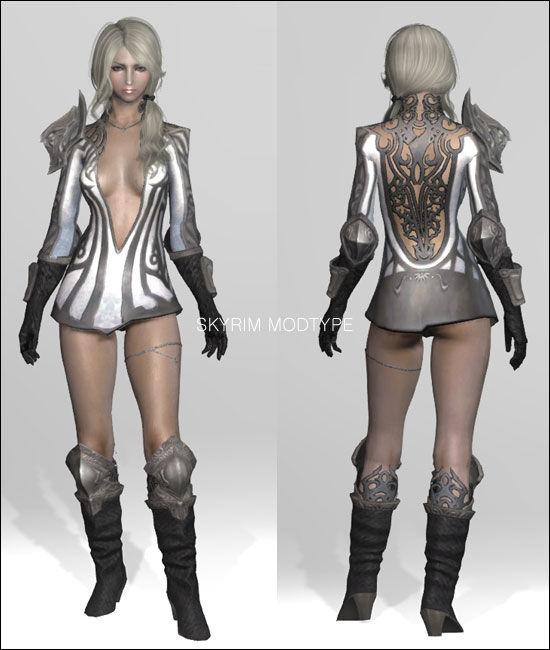 Skyrim мод на Экзоскелет