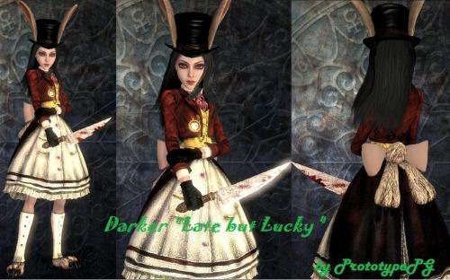 Alice madness returns платье 4