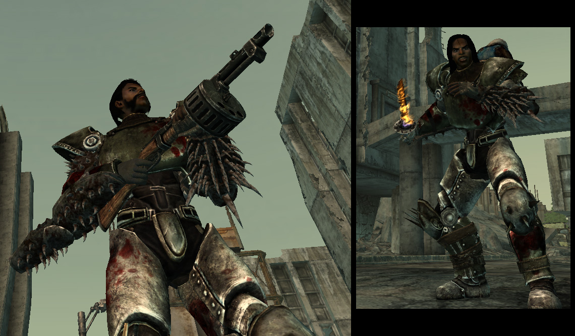 Fallout 3 моды на Броню