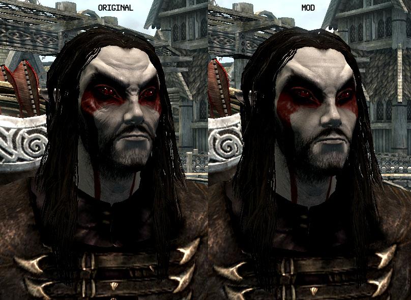 Как сделать красивый персонаж в skyrim 815