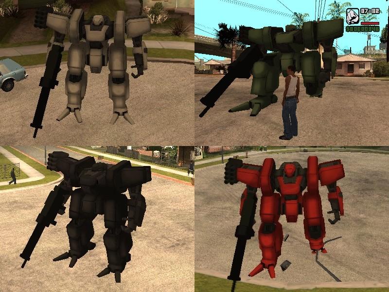 скачать мод на гта сан андреас на робота - фото 2