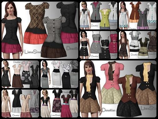 Симс 3 мод на Одежду