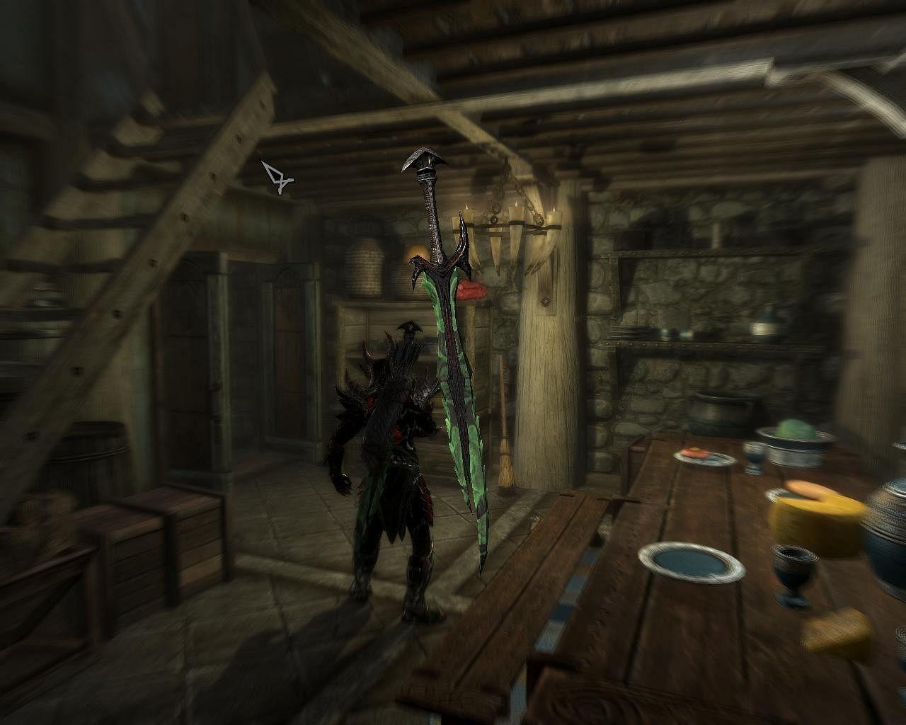 skyrim how to make daedric swords