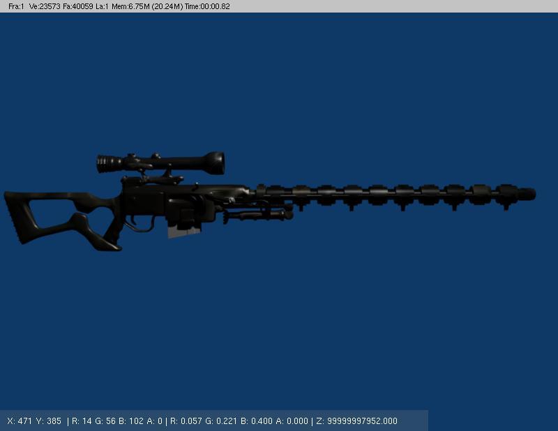 Возник интерес к электромагнитному оружию и требуется разрешениеавтор, тема винтовка существуют.