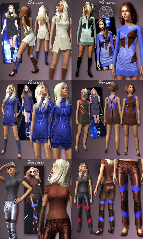 Одежда в формате sims3pack 10