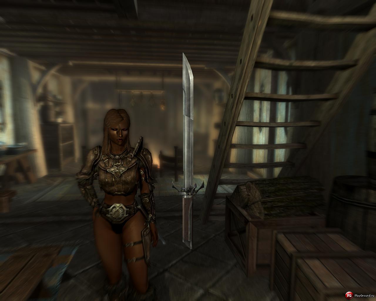 skyrim мод на скрытый клинок из assassins creed