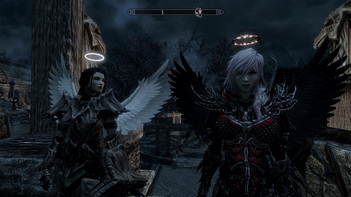 Nephilim раса для skyrim скачать моды для skyrim скачать.