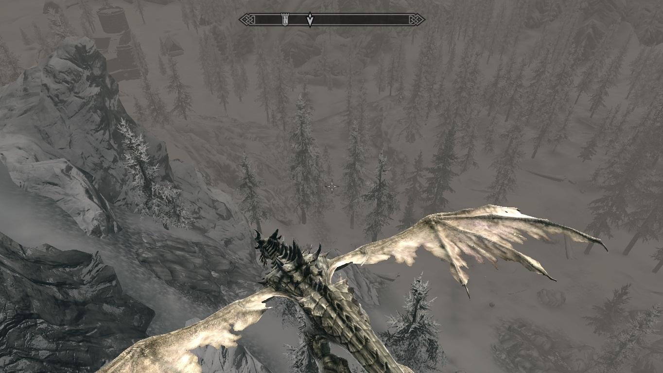 Мод на Скайрим на Превращение в Дракона