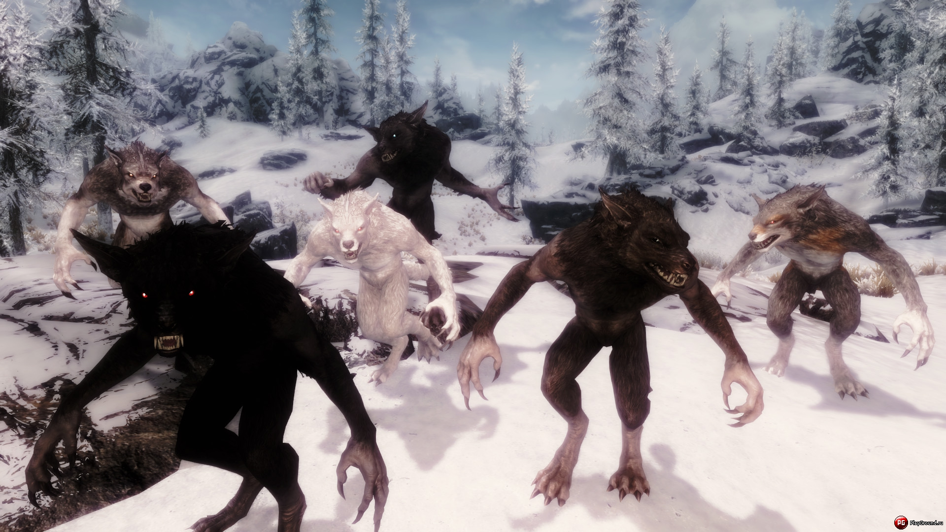 moonlight tales werewolf and werebear overhaul скачать мод