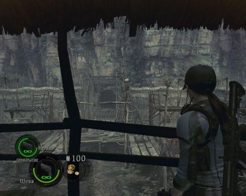 Загрузить картинки в галерею игры Resident Evil 5.