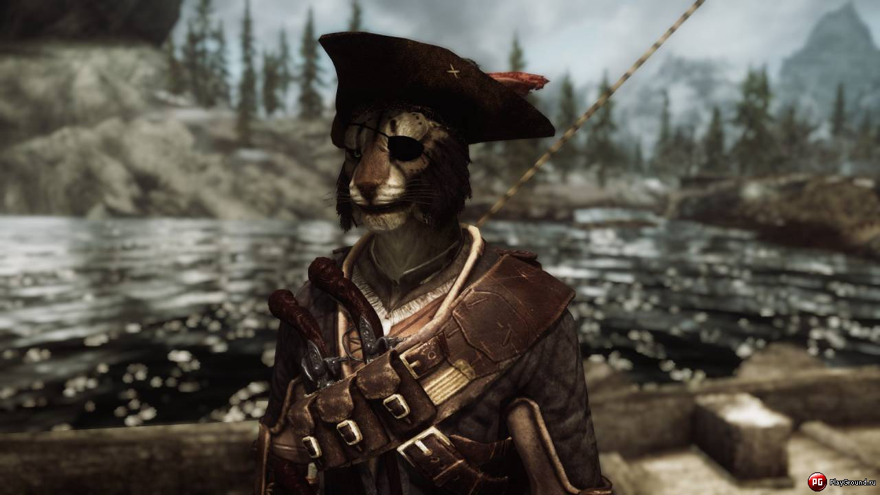 Скачать мод на скайрим на одежду пирата