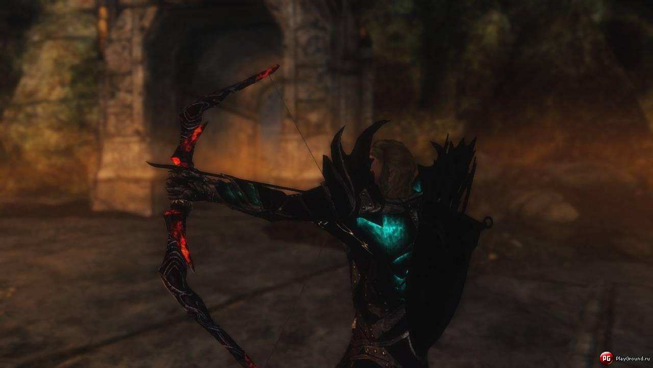 мод без регистрации адский меч скайрим