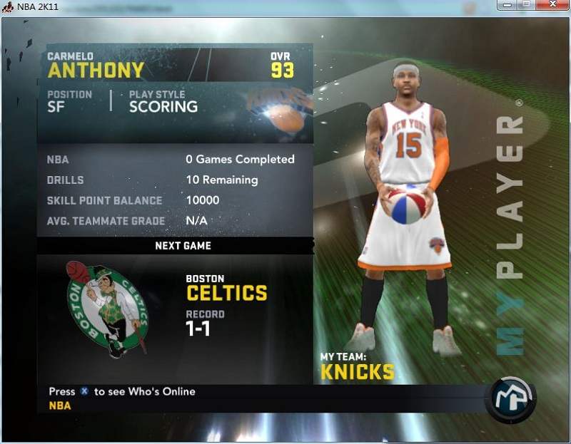 Скриншоты nba 2k12