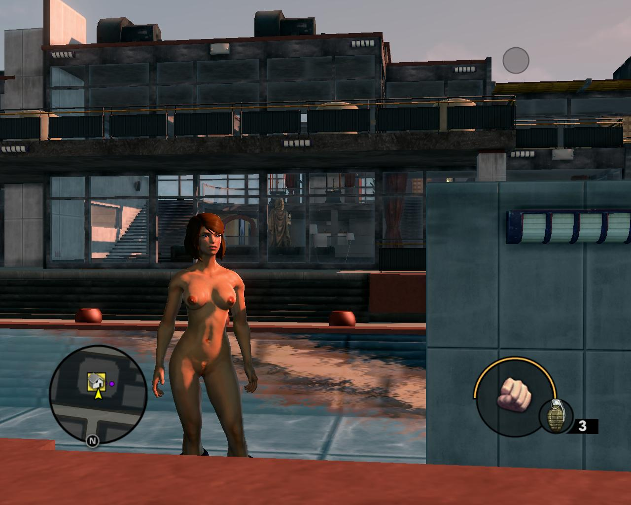 Saints row upskirt, people having but sex naked