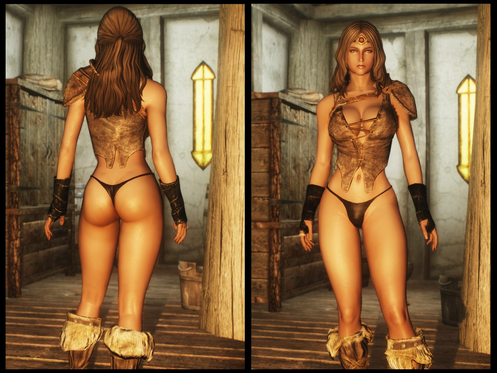 Morrowind mod female topless erotic clips