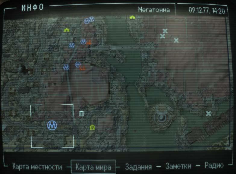 fallout 3 map - www.unknownexplorers.com