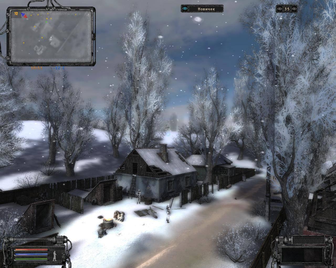 Игра сталкер зимой