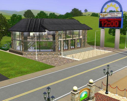 Sims New City Family Pack. Elit Fitnes Centr