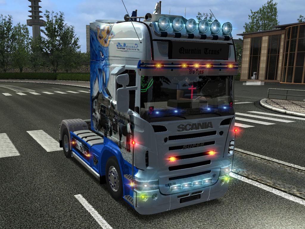 вотные спорт дальнобойщики игра euro truck simulator 2 мод