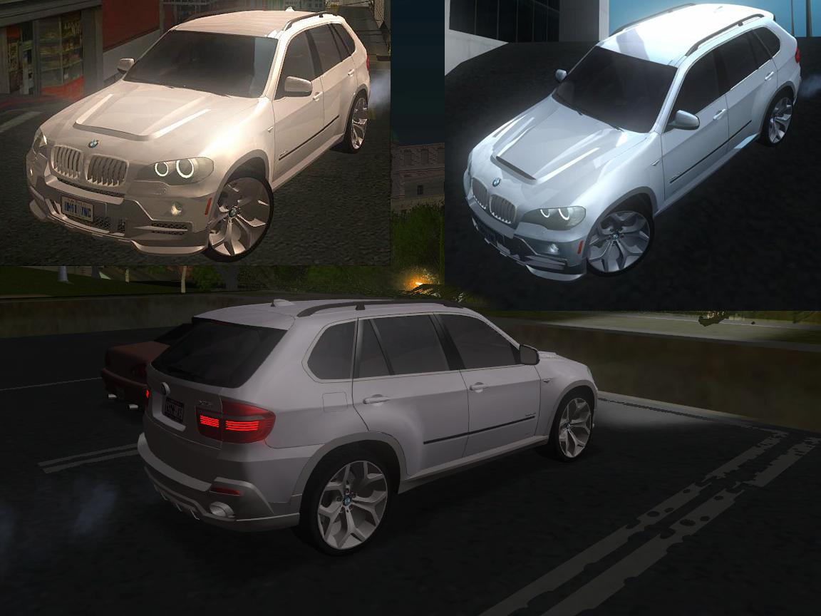 GTA SA BMW X5 2009 Tune by Denus. Машины. Заменяет landstalker.
