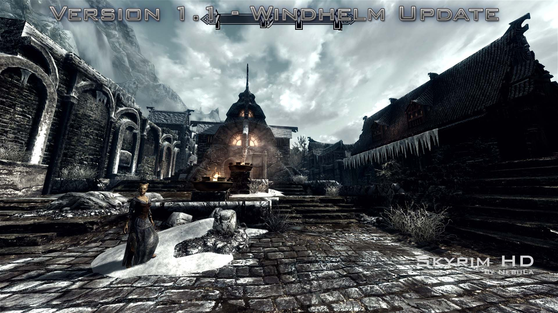 "TES 5: Skyrim ""Новые текстуры - Skyrim HD v1.5 ...: www.playground.ru/files/tes_5_skyrim_novye_tekstury_skyrim_hd_v1_5..."