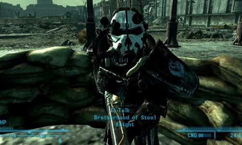 Fallout 3 моды силовая броня секси