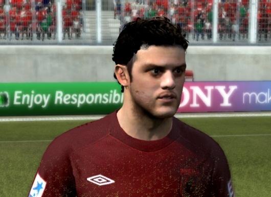 FIFA 12 Alan Kasaev Face by Rafaelka47. Лицо одно из лучших фу