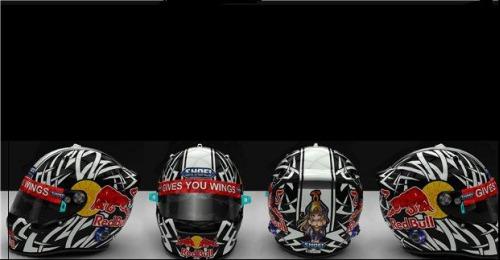 Red Bull Helmet Amazoncouk