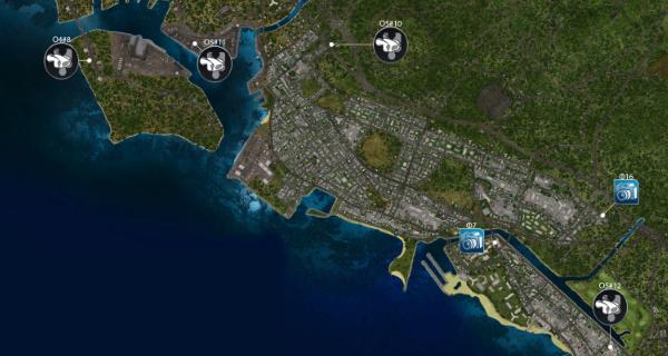 Карта test drive unlimited 2 - 3f