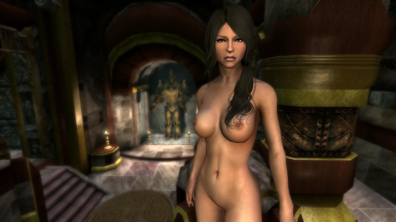 Секс девушки из skyrima