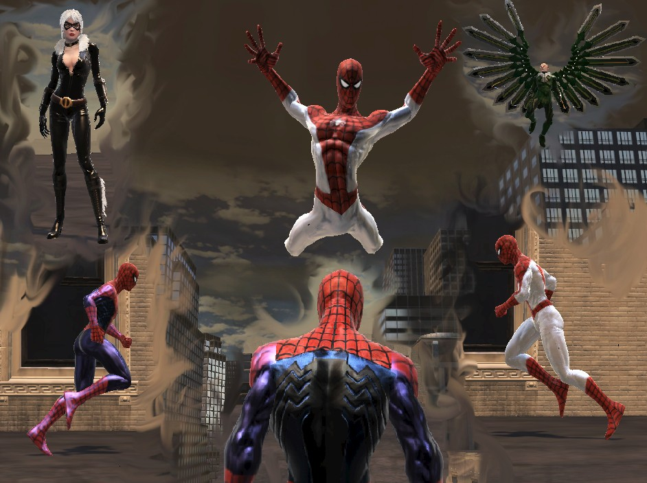 моды для Spider Man Web Of Shadows скачать - фото 2