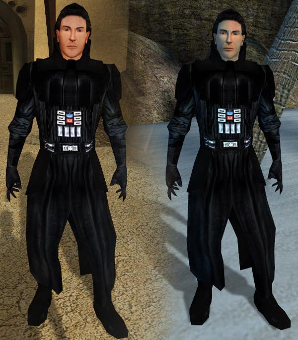 "Star Wars KOTOR ""Darth Vader's Armor Clothes Style"