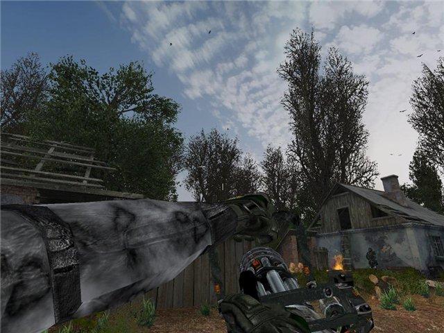 Скачать Мод На Сталкер Тень Чернобыля На Пулемет - фото 10