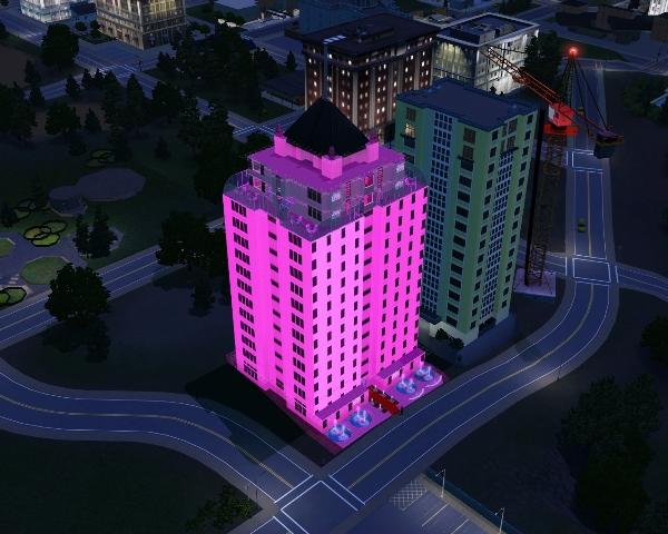 Sims 3 Танцевальный клуб Вышка.